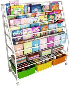 适合给小孩用的书柜 书架 Simple Children's Bookshelf