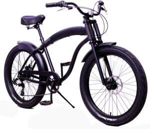防锈轻质铝框的男士海滩巡洋舰自行车 Fito Anti-Rust and Light Weight Aluminum Frame Modena GT-2 Mens Beach Cruiser Bike