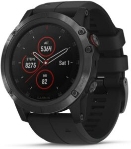 Garmin Fenix 5 Plus –带有音乐的最佳铁人三项锻炼智能手表