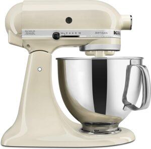 KitchenAid 桌面型立式搅拌机 KitchenAid KSM150PSAC Artisan Series 5-Qt. Stand Mixer