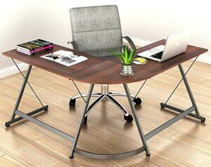 价格最实惠的L型办公桌 Le Crozz L-Shaped Home Office Corner Desk