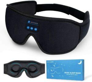 具有3D人体工学的:Lightimetunnel Sleep Headphones蓝牙睡眠耳机