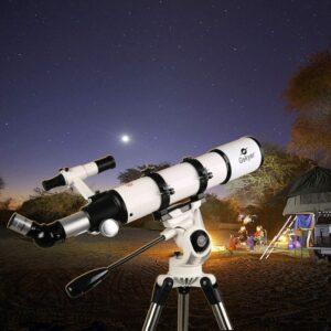 另一款Gskyer天文望远镜折射天文望远镜 Gskyer Telescope 600x90mm AZ Astronomical Refractor Telescope