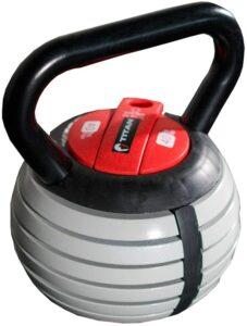 可以调节重量的壶铃 Titan Fitness Kettlebell Weight Lifting Equipment Adjustable