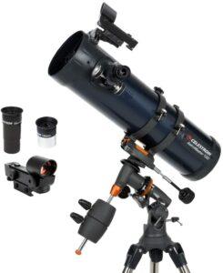 星特朗- AstroMaster望远镜 Celestron AstroMaster 130EQ Newtonian Telescope