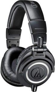 最佳头戴式耳机:Audio-Technica ATH-M50x