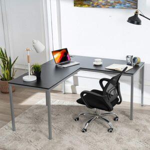 最简洁的L型办公桌 Chadior L Shaped Corner Computer Gaming Desk