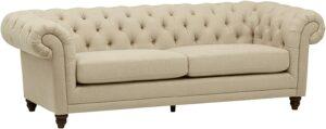 沙发推荐Stone & Beam Bradbury Chesterfield Tufted Sofa