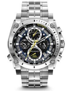 男士高级手表Bulova Men's Precisionist Stainless Steel Watch