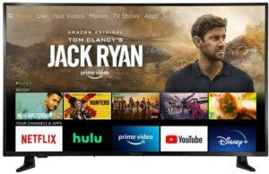 非常畅销而且便宜的一款43寸4K智能电视 All-New Insignia NS-43DF710NA21 43-inch Smart 4K UHD - Fire TV Edition