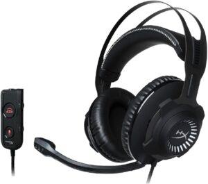 高级并功能丰富的头戴式耳机 HyperX Cloud Revolver S - Gaming Headset with Dolby 7.1 Surround Sound