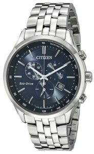 Citizen Men's Sapphire Collection AT2141-52L Wrist Watches, Blue Dial