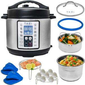 Instant Pot Lux 9合一高压锅 Yedi 9-in-1 Total Package Instant Programmable Pressure Cooker