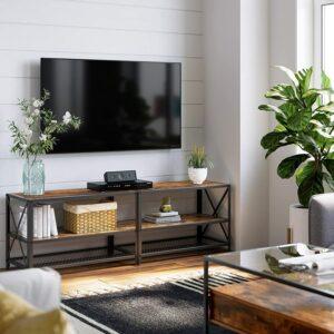 电视柜推荐VASAGLE TV Stand for TV up to 70 Inches