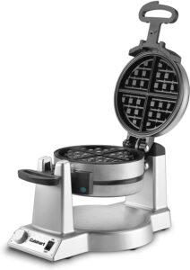 专业外观一流的华夫饼机:Cuisinart WAF-F20 Double Belgian Maker Waffle Iron