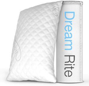 丝绒防过敏记忆海绵枕头 Dream Rite Shredded Hypoallergenic Memory Foam Pillow