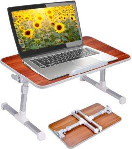 便携式膝上办公桌 Neetto Laptop Height Adjustable Bed Table