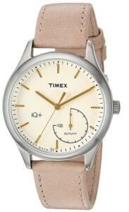 具有传统外观的女士智能手表 Timex Women's IQ+ Move Activity Tracker Smart Watch Set