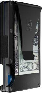 军用级铝制钱包 The Ridge Slim Minimalist Front Pocket RFID Blocking Metal Wallets for Men