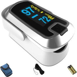 出色的双色OLED手指脉搏血氧仪 Mibest OLED Finger Pulse Oximeter