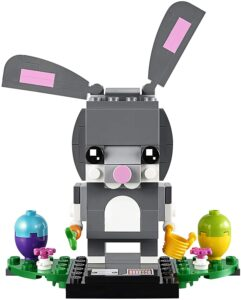 复活节乐高兔子玩具 LEGO BrickHeadz Easter Bunny Building Kit