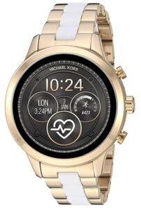 外观时尚大气的女士智能手表 Michael Kors Access Gen 4 Runway Smartwatch