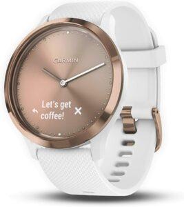 小巧优雅的女士智能手表 Garmin vivomove HR Hybrid Smartwatch