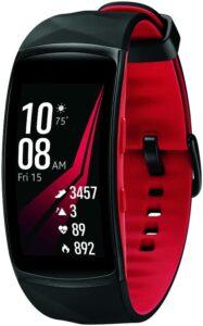 很适合日常佩戴的女士智能手表 Samsung Gear Fit2 Pro Smartwatch Fitness Band (Small)