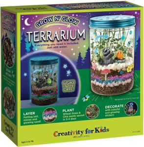 成长发光玻璃容器玩具 Creativity for Kids Grow 'N Glow Terrarium Kit for Kids
