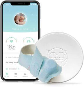 最适合婴儿使用的脉搏血氧仪 Owlet Smart Sock 2 Baby Monitor