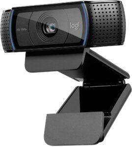 最适合家里工作的电脑摄像头 Logitech HD Pro Webcam C920