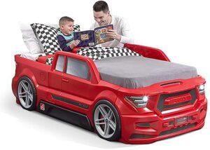 涡轮增压双卡车儿童床