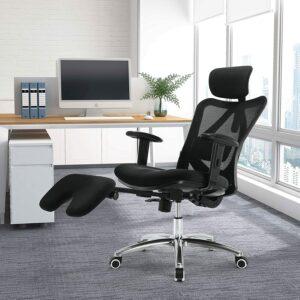 符合人体工学的办公椅 SIHOO Ergonomic Office Chair with Footrest Recliner