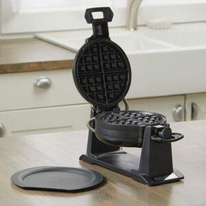 经典旋转式华夫饼机 BLACK+DECKER Rotating Waffle Maker
