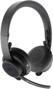 罗技无线工作耳机 Logitech Zone Wireless Bluetooth Headset