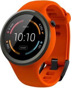 转为运动而设计的女士智能手表 Motorola Moto 360 Sport - 45mm, Flame