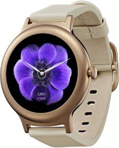 轻巧纤薄非常适合女性手腕的智能手表 LG Electronics Smartwatch with Android Wear Rose Gold