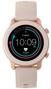 轻巧靓丽的女士智能手表 Timex Metropolitan R AMOLED Smartwatch with GPS & Heart Rate