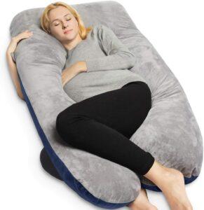 适合孕妇用的身体枕头 QUEEN ROSE Pregnancy Pillow for Sleeping