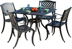 铸铝户外用餐套件 Christopher Knight Home Outdoor Dining Set