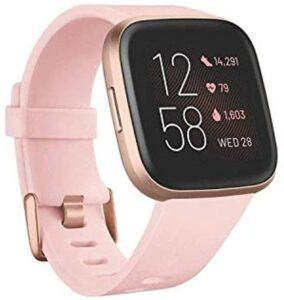 非常受女性爱戴的一款智能手表 Fitbit Versa 2 Health and Fitness Smartwatch