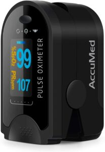 AccuMed CMS-50D指尖脉搏血氧仪血氧仪 AccuMed CMS-50D Fingertip Pulse Oximeter