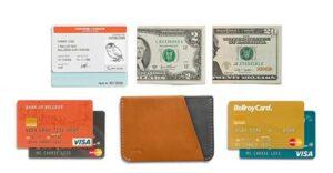 Bellroy极简钱包 Bellroy Micro Sleeve Leather Card Holder