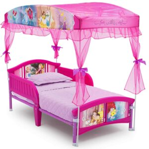 Delta Children Canopy Disney Princess 儿童床