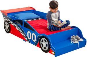 KIDCRAFT赛车形儿童床