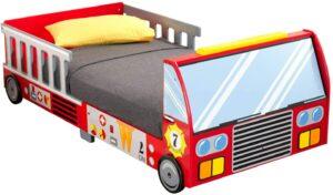 KidKraft 消防车儿童床