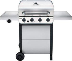 价格最实惠的燃气烧烤炉 Char-Broil 463377319 Performance 4-Burner Cart Style Liquid Propane Gas Gril
