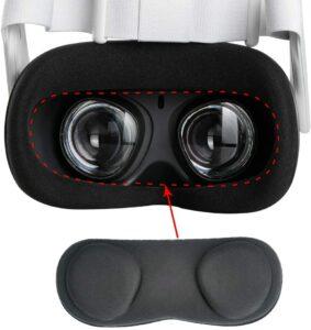 保护VR镜片的最佳方法, Orzero VR镜头盖 Orzero VR Lens Protect Cover Dust Proof Cover for Oculus Quest 2