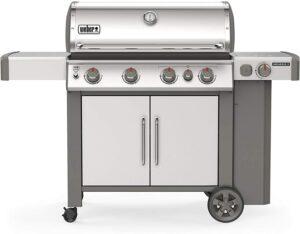 受好评度最高的BBQ燃气炉 Weber 62006001 Genesis II S-435 4-Burner Liquid Propane Grill