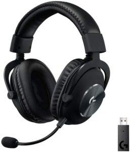 坚固舒适的PS5有线游戏耳机:Logitech G PRO X Gaming Headset